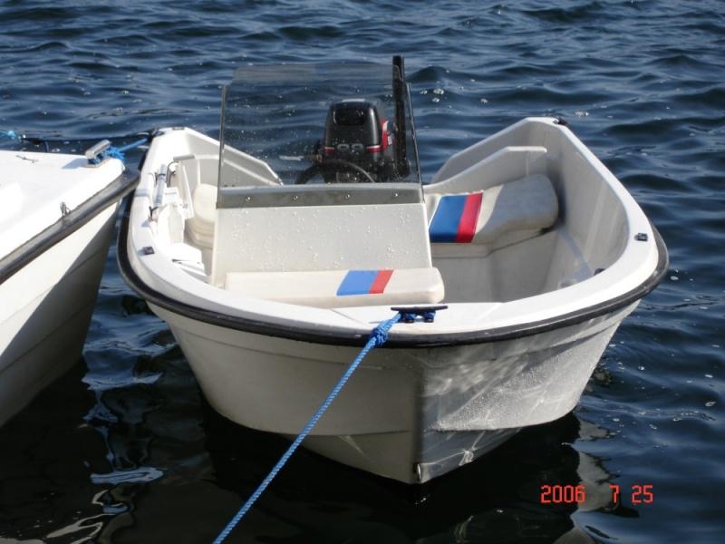 Vindskjerm båt